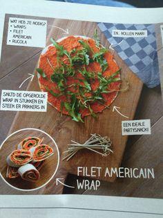 Filet Americain wraps
