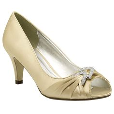 Pink Paradox Claire Champagne Gold - Wedding Shoes - Crystal Bridal Accessories