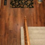 Wood look luxury vinyl plank (LVP) by Karndean