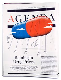 Bloomberg Markets - Matt Chase | Design, Illustration