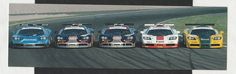 1996 BPR ORIGINAL McLAREN F1 GTR TEAMS PHOTOGRAPH POSTCARD DEALER POST CARD GULF