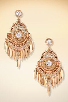 Sexy chandelier earrings. #BostonProper #Jewelry