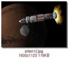 Orion spacecraft design