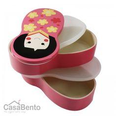 Pink Hime Bento Box