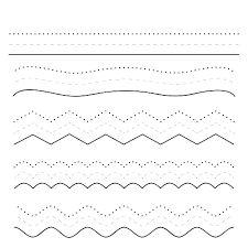 Resultado de imagen para grafomotricidad lineas curvas