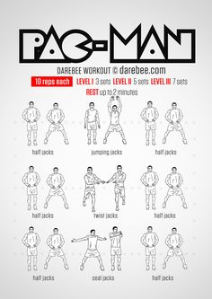 Pac-Man Workout
