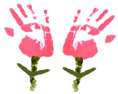 This site has TONS of ideas on how to use children's hands and feet for art.