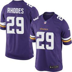 Nike Limited Xavier Rhodes Purple Men's Jersey - Minnesota Vikings #29 NFL Home