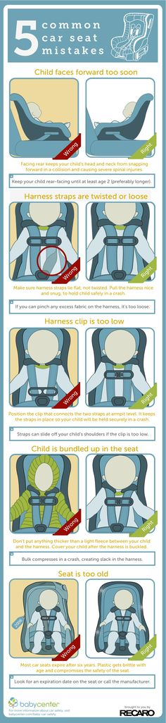 5 car seat mistakes to avoid