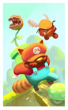 Mario Bros by ~thurZ