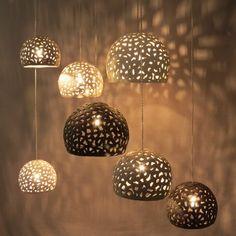 Lighting hanging on chandelier. Ceramic Lighting - All For Decoration Dining Room Light Fixtures, Modern Light Fixtures, Dining Room Lighting, Pendant Light Fixtures, Modern Lighting, Pendant Lighting, Lighting Ideas, Dining Rooms, Hanging Chandelier