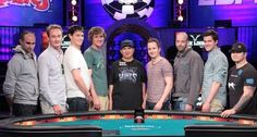 """When they announced """"Shuffle up and deal"""" I'm wondering I these players thought they'd make the November 9.  They sure did!  9 out of 6352...wow! www.highrollerradio.net"""