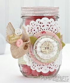 beautiful jar