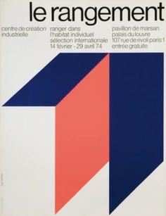 Jean Widmer, Le Rangement 1974.