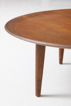 round coffee table in teak