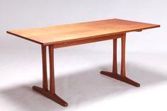 Model C18 shaker dining table Borge Mogensen FDB ボーエ・モーエンセン | Swanky Systems