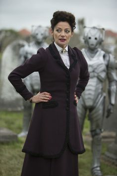Doctor Who star Michelle Gomez joins the cast of Batman series Gotham / Gomez plays the new version of The Master in Doctor Who