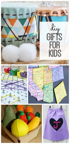 DIY Christmas Gifts for Kids. Handmade gifts that kids will love! Perfect for Christmas and birthdays.