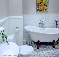 my dream bath Bathroom Stand, Bathtub, Bathroom Toilets, Bathroom Inspiration, Bathroom Decor, Bathroom Makeover, Green Bathroom, Bathroom Fixtures, Bathroom