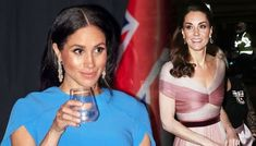 Meghan and Kate 'are spending TENS of thousands' on bespoke dresses Kate And Meghan, Harry And Meghan, Dress Outfits, Fashion Outfits, Dresses, Kate Middleton News, Sister In Law, Meghan Markle, Engagement Pictures