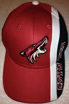 PHOENIX ARIZONA COYOTES REEBOK FACE OFF CAP HAT ADULT ADJUSTABLE OSFA FREE SHIP #Reebok #PhoenixCoyotes