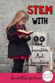 Looking for STEM activities? Students can learn more about inventions and famous inventors. Videos, books and ideas provided. You can create as they learn about the invention process.