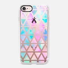 iPhone 7 Case New standard Pastel Aztec watercolor