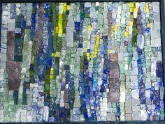 Sunlit Glen by Sophie Drouin ~ Maplestone Gallery ~ Contemporary Mosaic Art