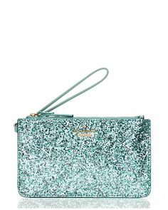 Mint Sparkle Wristlet by Kate Spade NY #SurpriseSale