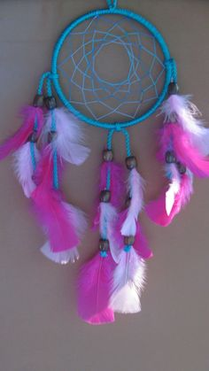 Unique and colorful, dress up some wall space- Dream Catchers, Wall Spaces, Entryway, Etsy Shop, Colorful, Engagement, Unique, Pink, Dress