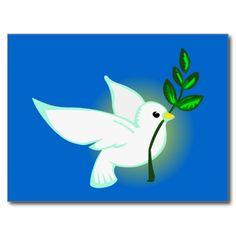 Friedenstaube peace dove postkarten