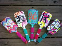 Paddle BrushGreat Stocking Stuffers by 2FriendsBoutique on Etsy, $15.00