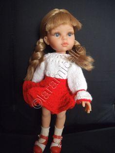 tuto gratuit paola reina: blouse ajourée et boutonnée, manches volantées