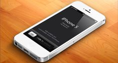 3D iPhone 5 Psd Vector Mockup v2 | Psd Mock Up Templates | Pixeden