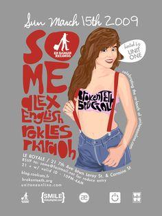 Illustrations & Posters by So-Me (Ed Banger) » Art Fucks Me
