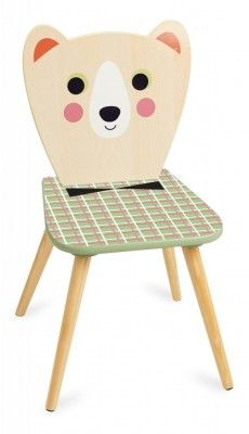 A wooden child chair by VILAC. An eyecatcher for your kidsroom or livingroom, mix and match with the matching chairs and table. Bear Bows, Kidsroom, Chair, Furniture, Design, Home Decor, Bedroom Kids, Decoration Home, Room Decor