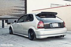 一人中古車屋のんびり日記 Civic EK Hatch VSM Carbon