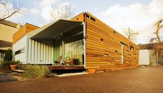 Numen Development, LLC : Shipping container housing in Houston