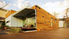 Numen Development, LLC : Shipping container housing in Houston