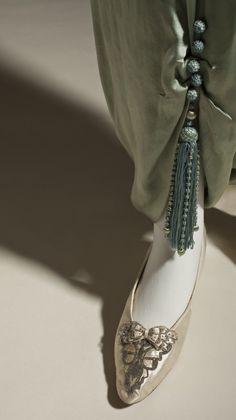 Woman's Lounging Pajamas  Callot Sœurs ((Couture house) France, Paris, circa 1890-circa 1950)  France, circa 1913  Costumes; principal attire (entire body)  Silk net (tulle) and silk satin (charmeuse) with metallic-thread passementerie and silk tassels