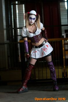 Character: Harley Quinn Version: Arkham Assylum. Cosplayer: BloddyLaila (Aleksandra) From Polland and resides in Toscana, Italy. Photographer. Marco Nardi.