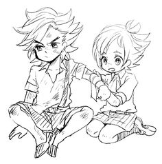 Kid Jean Engarde / Janne Angard and Yew  Genealogia ( Bravely Second )