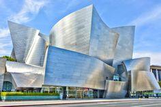 Architecture focus: Frank Gehry. Walt Disney Music Center. (Roel Vincken/Getty Images)
