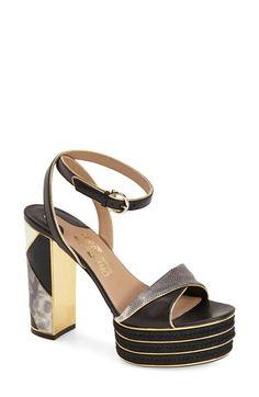 Salvatore Ferragamo 'Gaga' Platform Sandal (Women) available at #Nordstrom