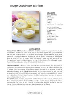 Orangen Quark Dessert oder Tarte-001