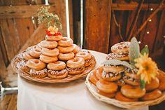 Bohemian Family Cookout Wedding: Tyler & Kristen  Krispy Kreme