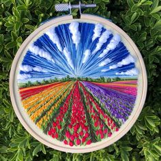 DM for credit/removal Caption this 😊 By 📷: Embroidery Designs, Hand Embroidery Stitches, Embroidery Hoop Art, Cross Stitch Embroidery, Cross Stitch Hoop, Crystal Embroidery, Diy Broderie, Cross Stitching, Creations