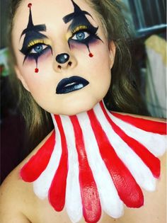 Jester - The Most Hauntingly Gorgeous Halloween Makeup Looks on Instagram - Photos