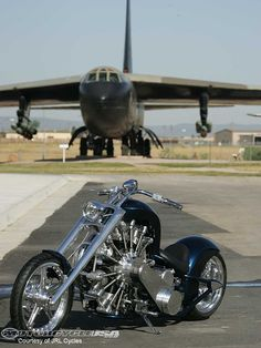 Airplane motor bike