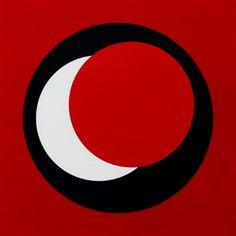 GENEVIÈVE CLAISSE  'Circles' : 1967 : gouache
